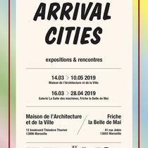 """Affiche expo """"Arrival cities"""""""
