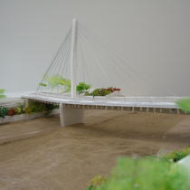 Atelier maquette, pont Eric Tabarly